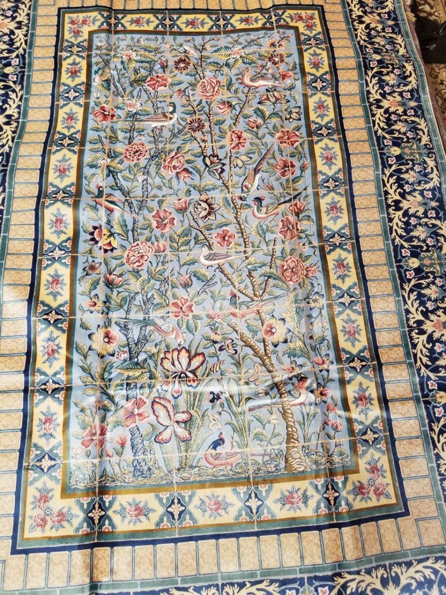 Persian Hand Loom Silk Rug 28