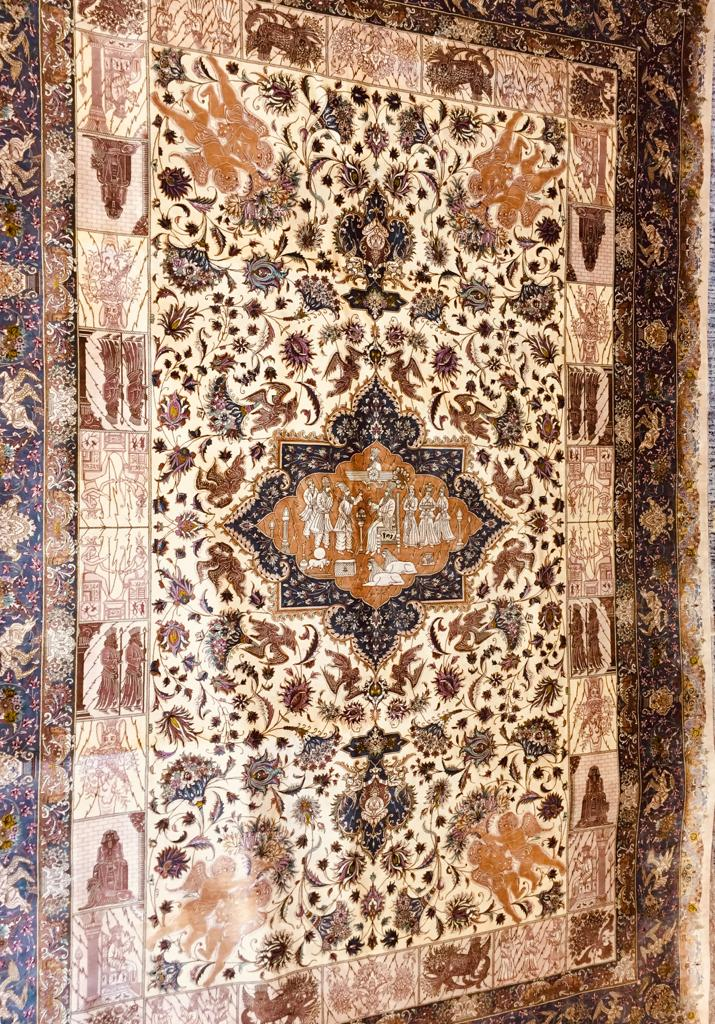 Mousavi Pure Silk Rug 288