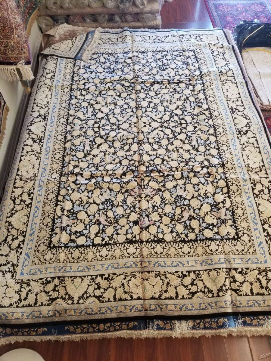 Persian Hand Loom Silk Rug 199