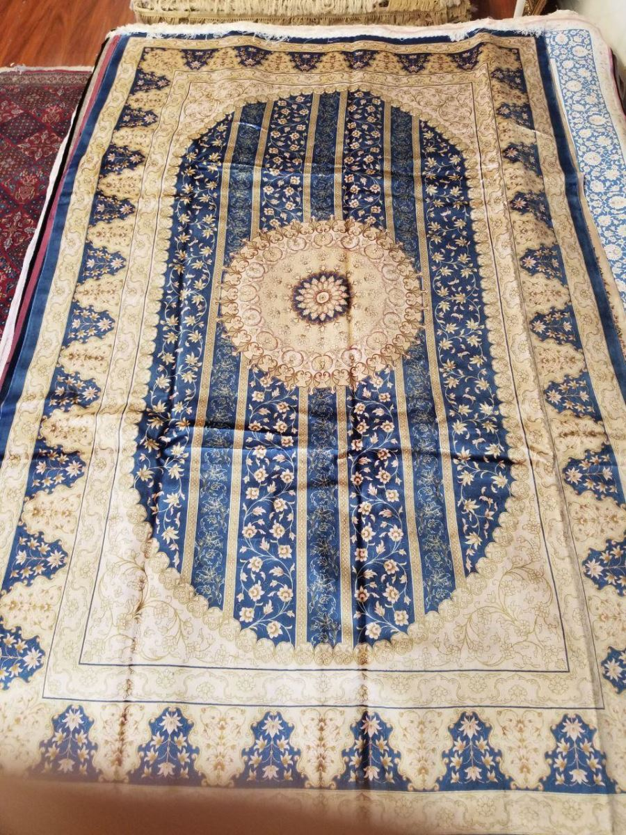 Persian Hand Loom Silk Rug 77